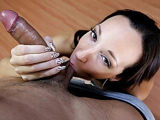 Big booty cutie Jada Stevens receives..